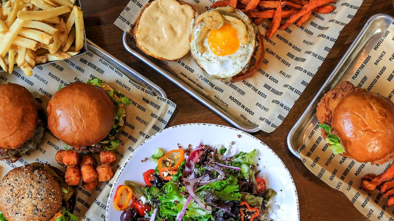Brome Modern Eatery Detroit burgers