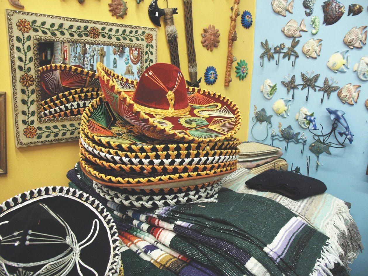 Sombreros in Mexicantown Detroit