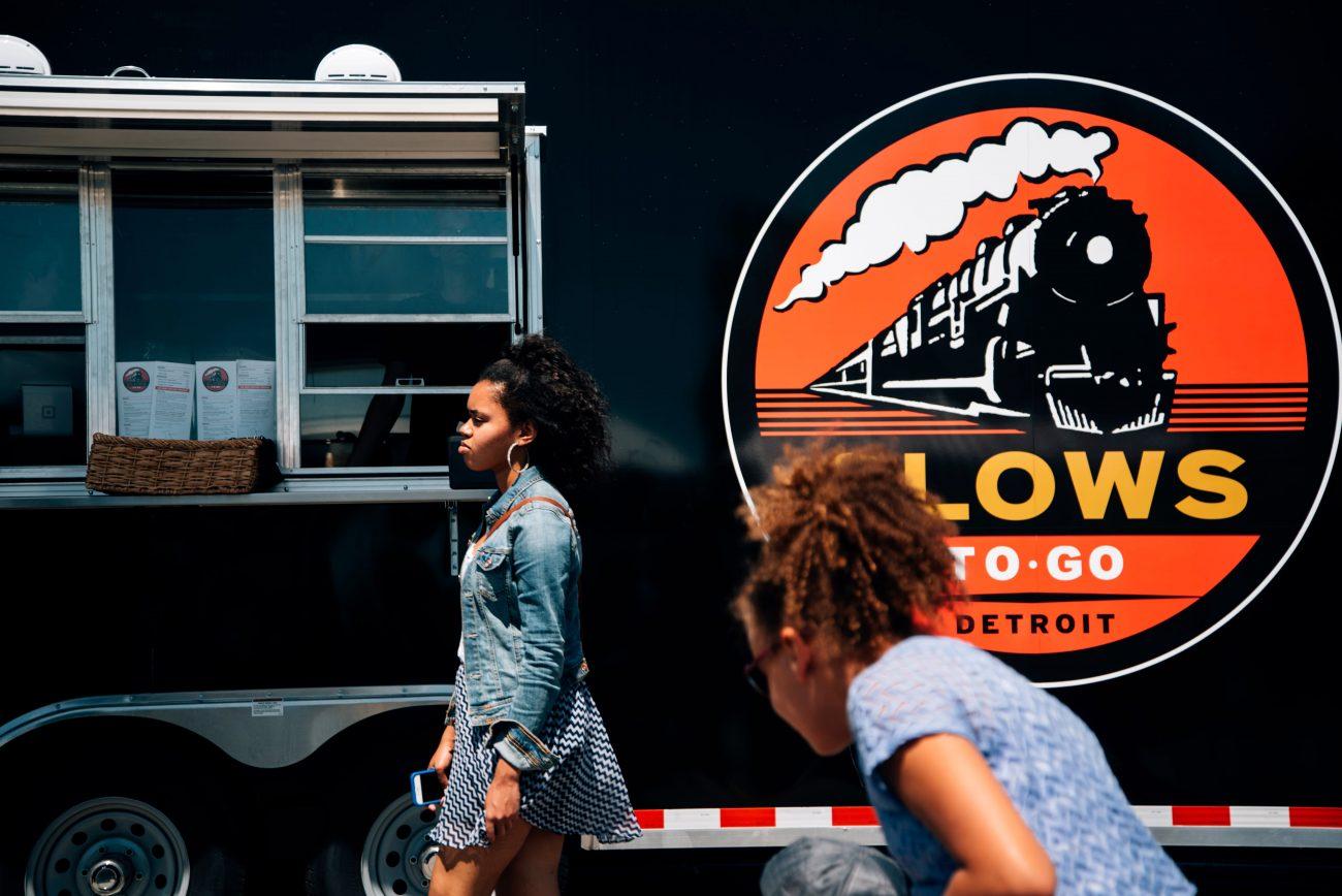 Slows Bar BQ food truck