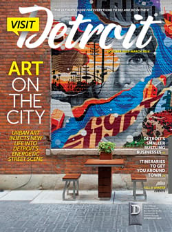 Visit Detroit magazine Fall 2015 Winter 2016 issue cover