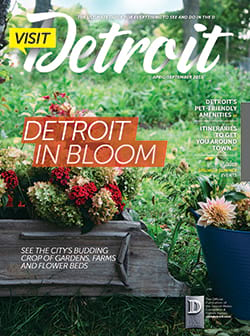 Visit Detroit magazine Spring & Summer 2015 issue cover