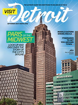 Visit Detroit magazine Fall 2014 & Winter 2015 issue cover