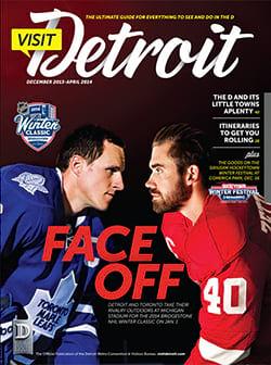 Visit Detroit magazine Winter 2014