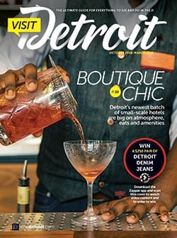 Visit Detroit Fall 2018 Winter 2019 issue cover