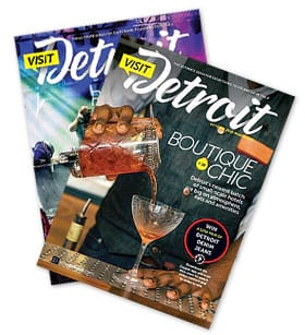 Detroit Visitors Guide cover