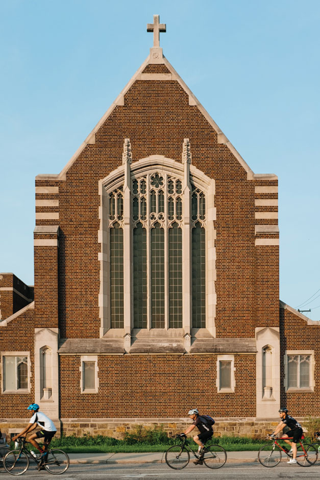 Church in Corktown Detroit