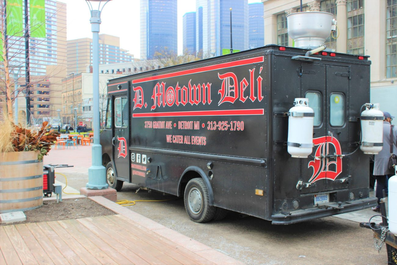 Motown Deli food truck