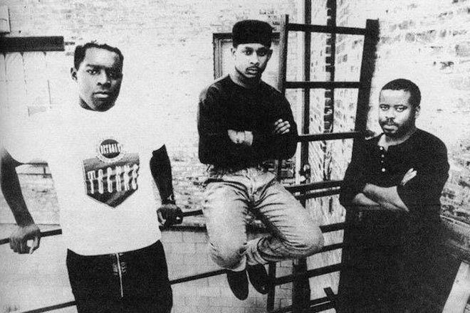 The Belleville Three, who invented Detroit techno