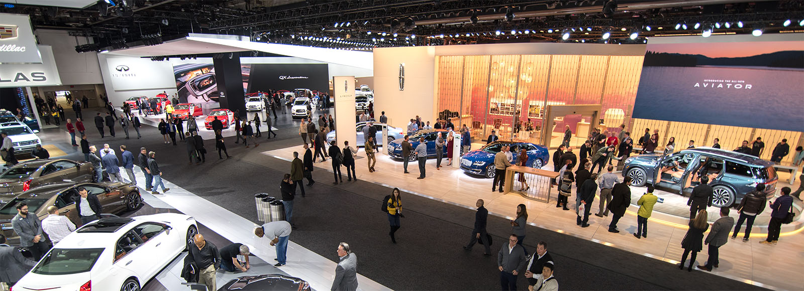 TCF Center host the Detroit auto show every year