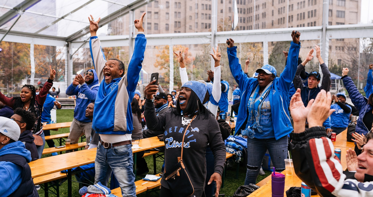 Detroit Lions Watch Party at Beacon Park