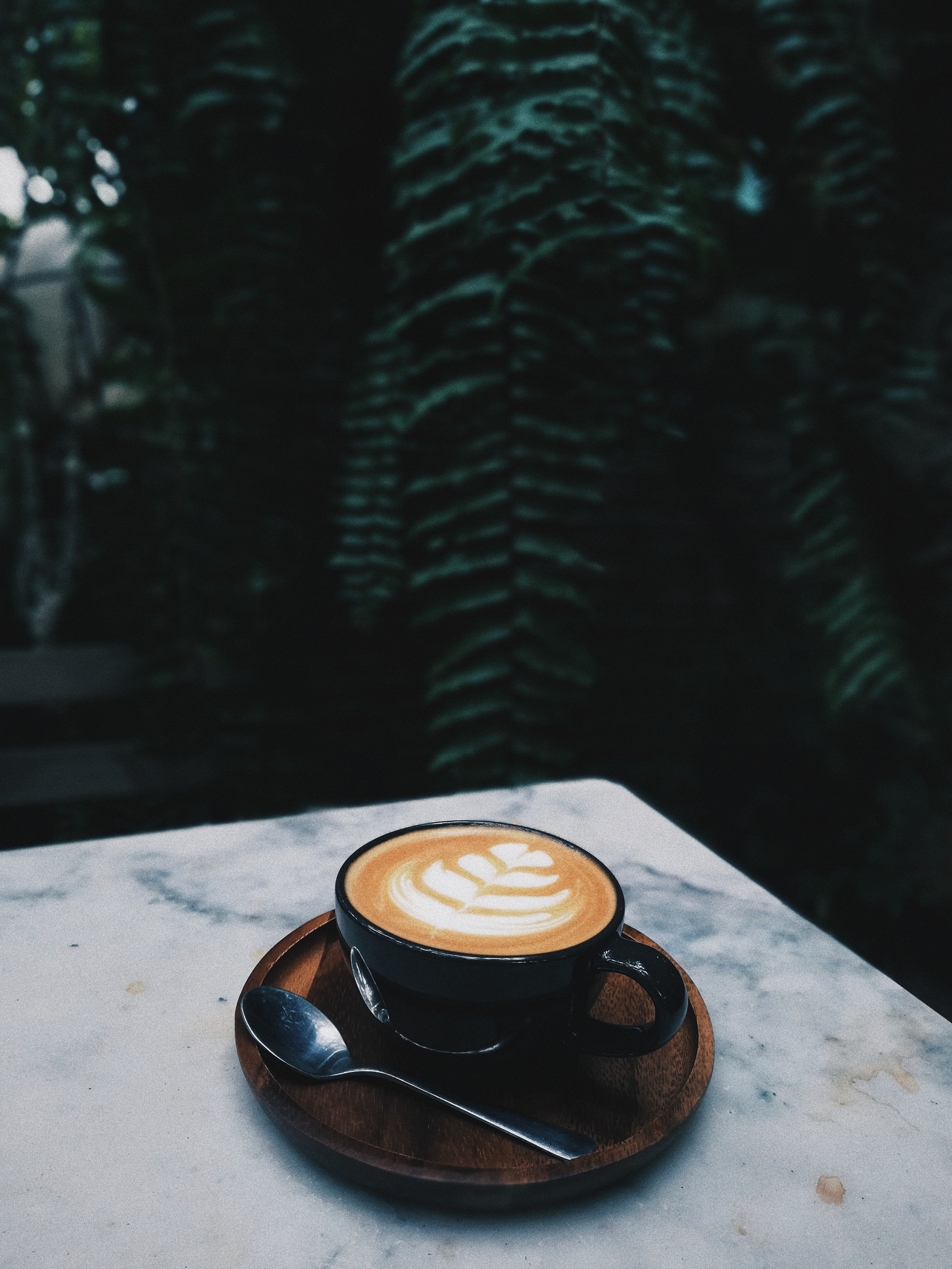 A coffee shop in Detroit