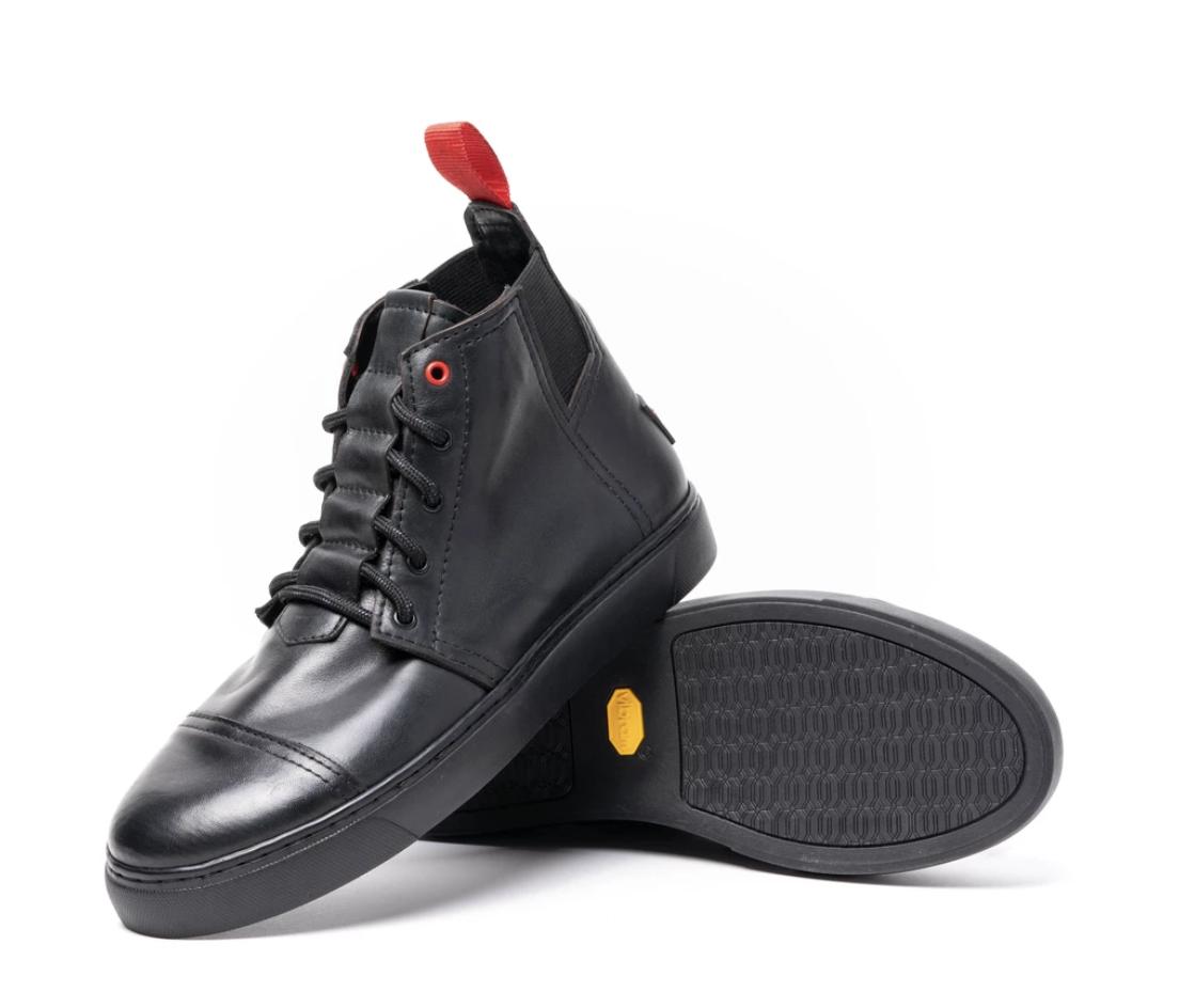 Pingree Detroit black sneakers