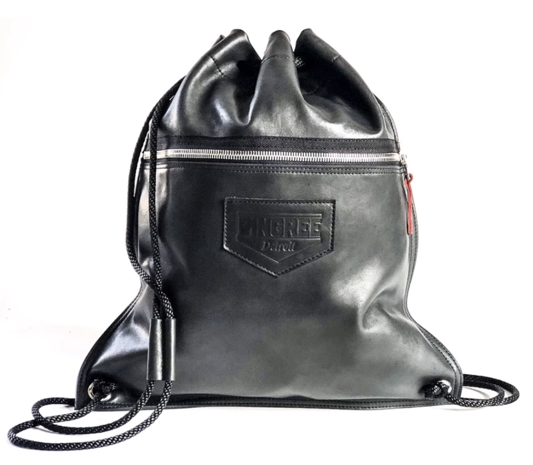 Pingree Detroit leather tote