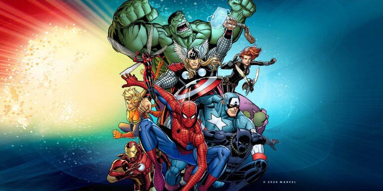 Marvel exhibit