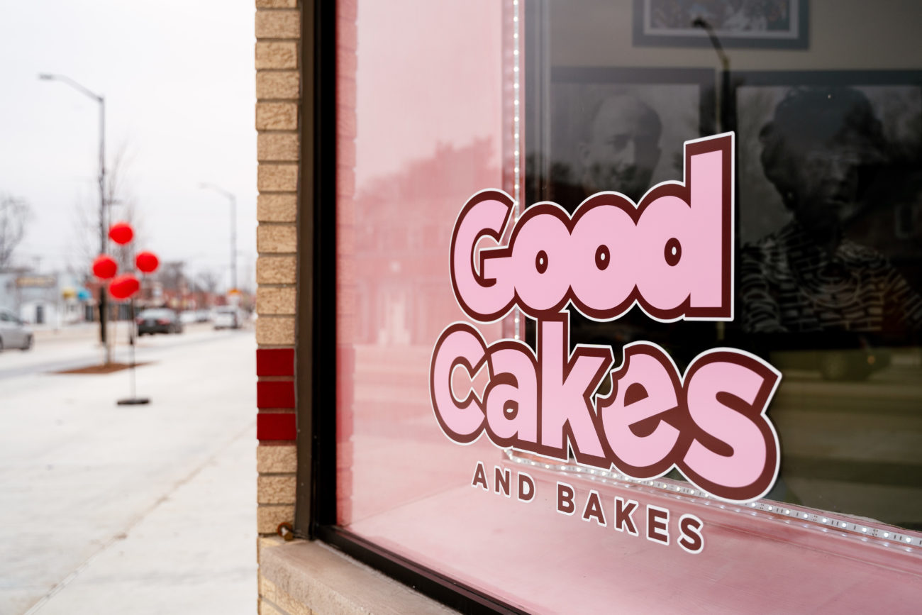 Good Cakes & Bakes sign