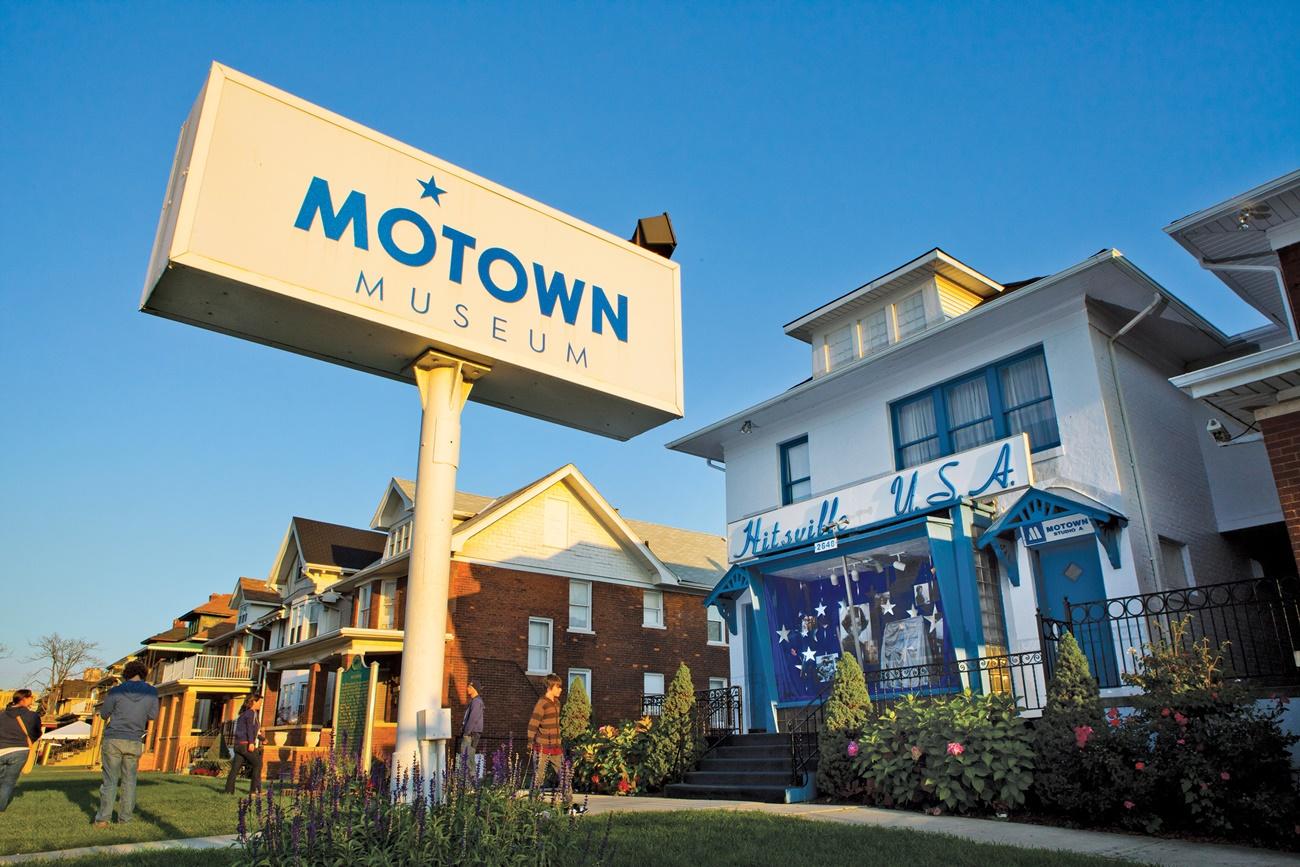Motown Museum exterior