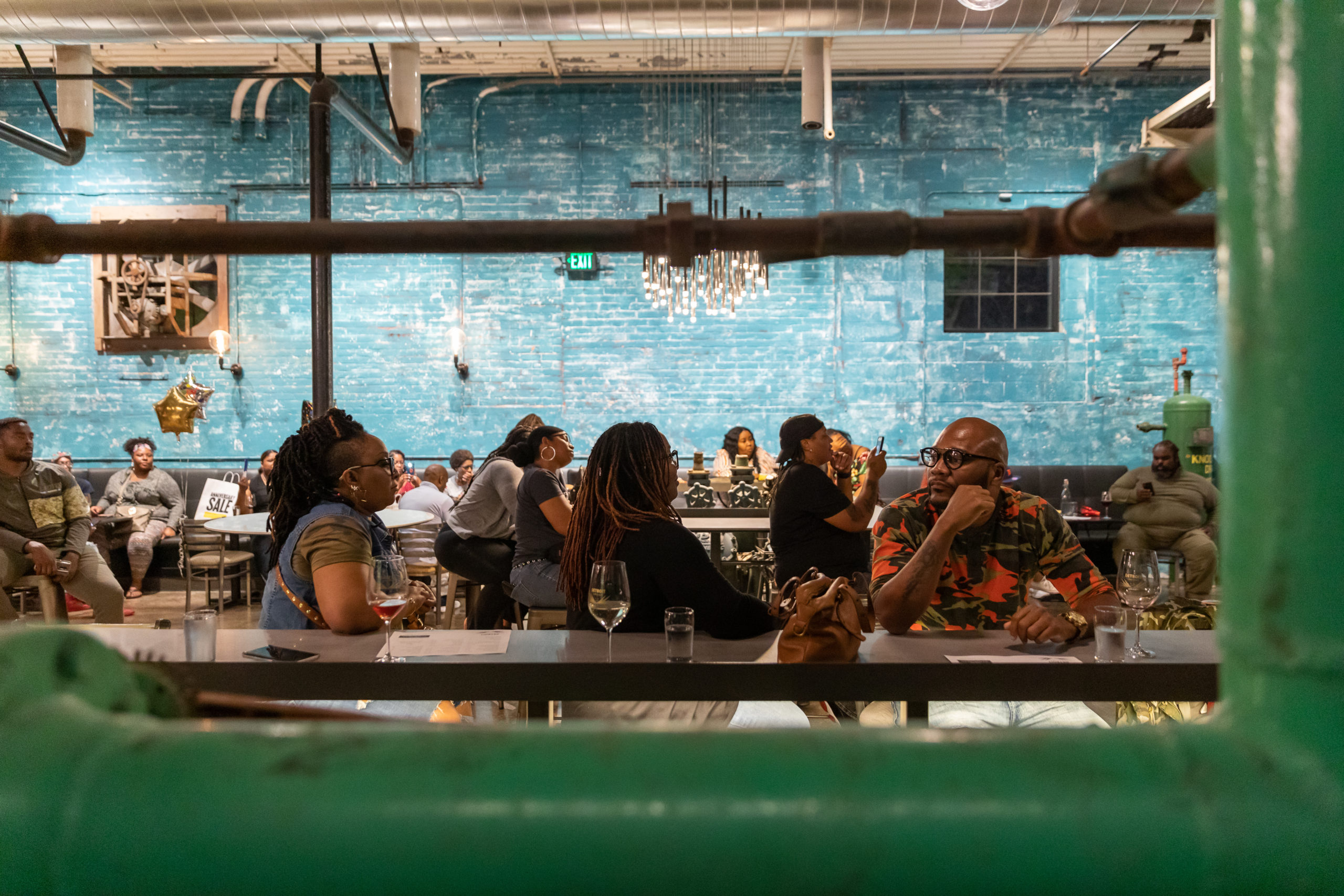 Detroit Vineyards Tasting room