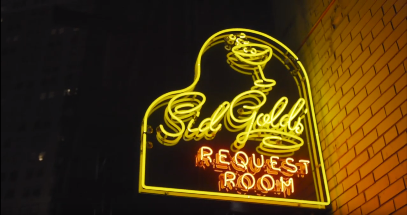 Sid Gold's Sign