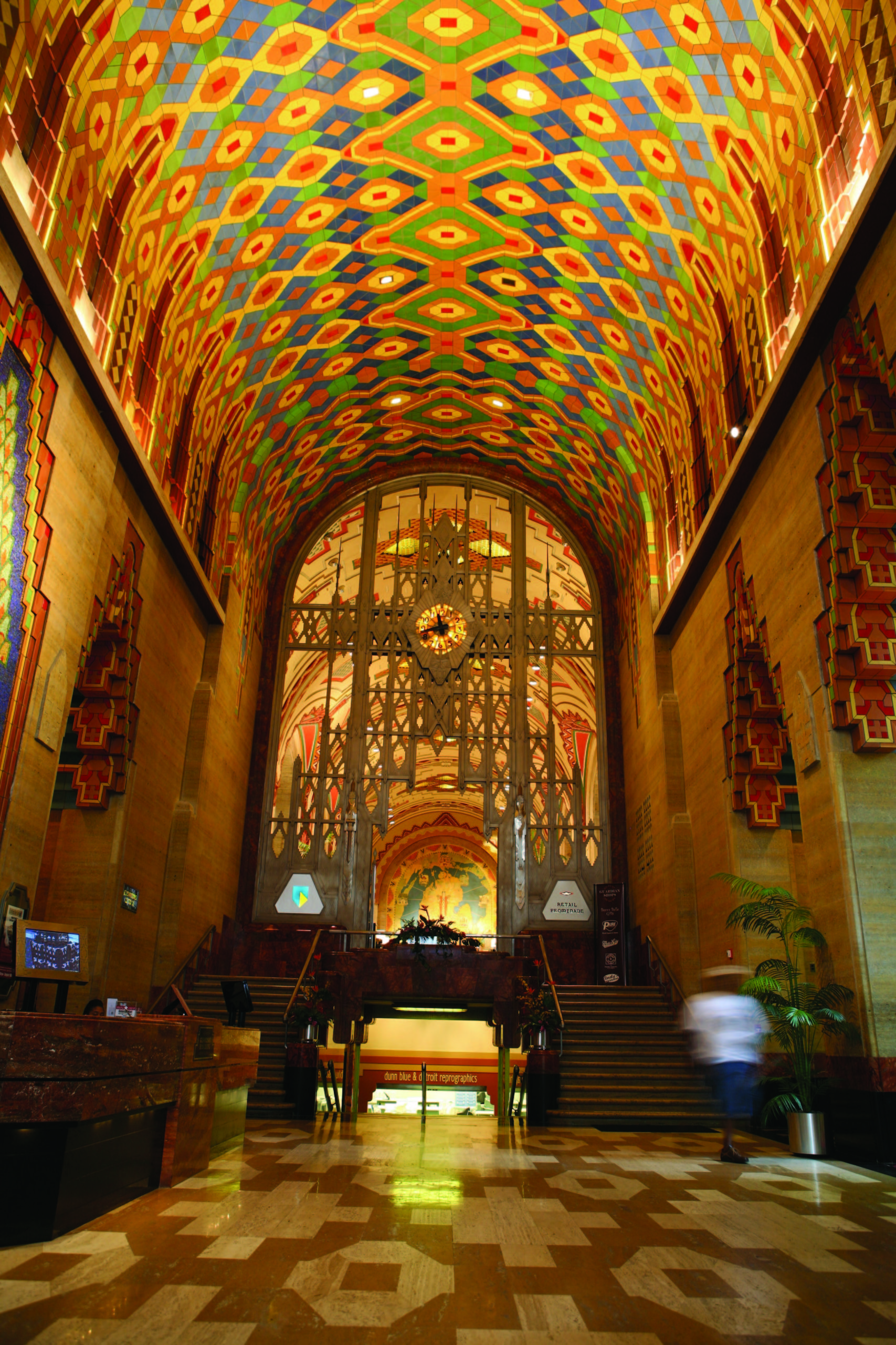 Inside the Guardian Building