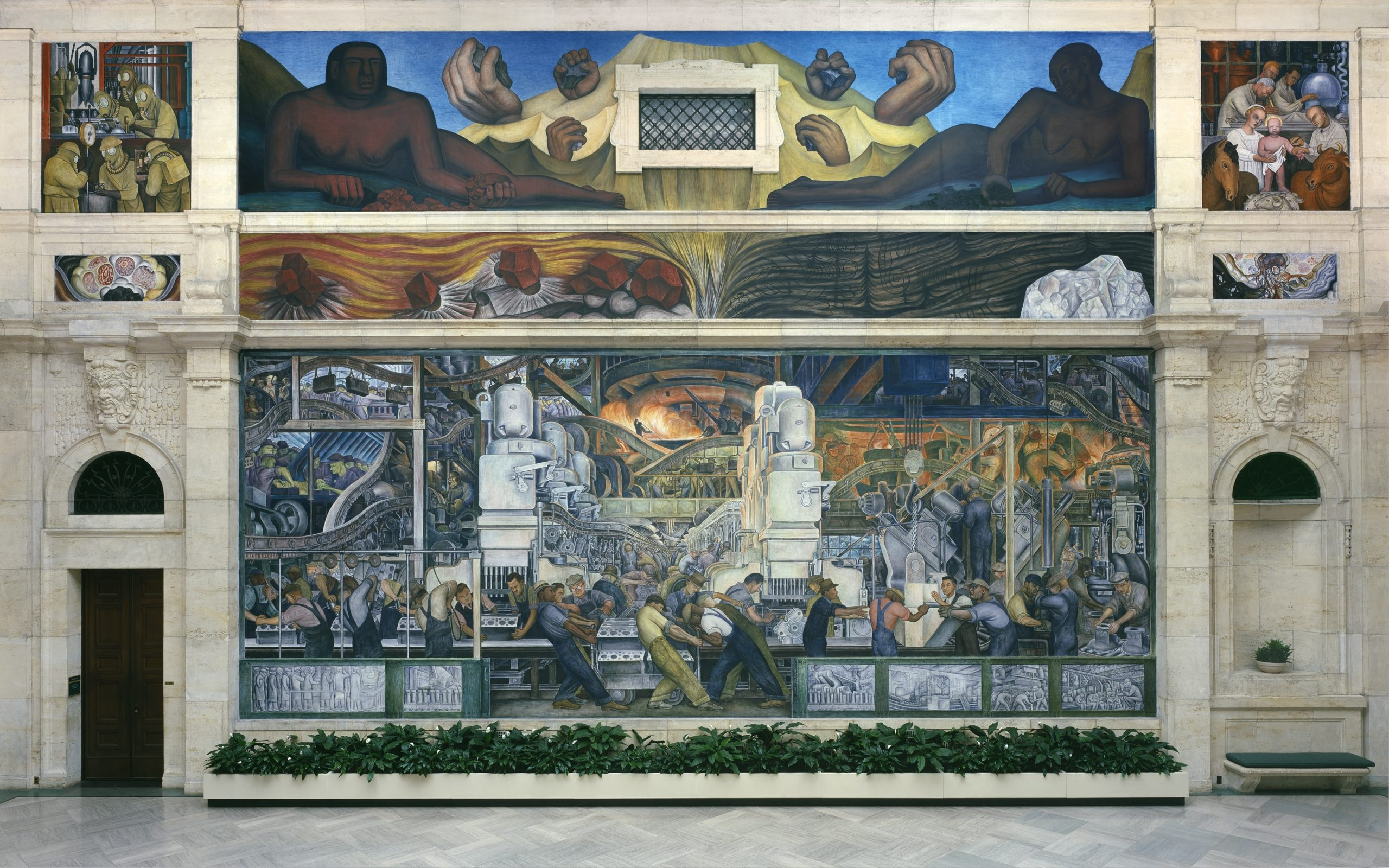 DIA Diego Rivera mural