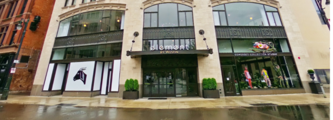 Element Hotel in the Metropolitan